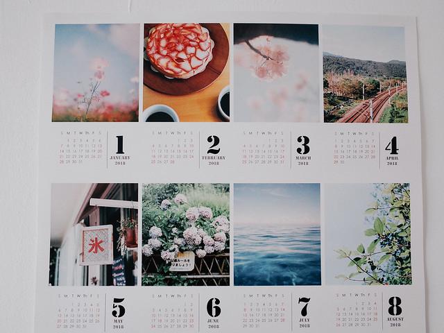 2018 Calendar Poster