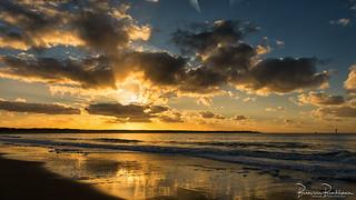 Sunset Brouwersdam