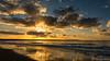 Sunset Brouwersdam (BraCom (Bram)) Tags: bracom bramvanbroekhoven brouwersdam ellemeet holland nederland netherlands noordzee northsea schouwenduiveland zeeland autumn avond beach branding cloud duinen dunes evening fall herfst reflection sky spiegeling strand sun sunrays sunset surf wolk zon zonnestralen zonsondergang