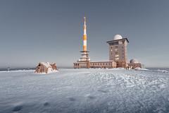 First Snow (Gruenewiese86) Tags: brocken harz sonnenaufgang winter germany explore exploreharz snow schnee