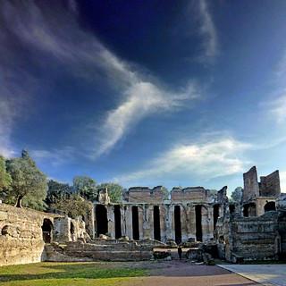 Villa Adriana, Tivoli,  Italia