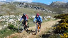 Bringing up the Rear (kate willmer) Tags: people men bicycle bike biking mountain mountainbike trail track rocks andalucia spain