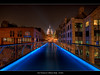 23.2013 -  London - Millenium Bridge (Pawel Tomaszewicz) Tags: london england londyn anglia capitol night city cityscape landscape stolica hdr hdri dri nocturno bridge millenium lights colors
