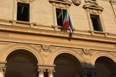 Rome, Italy - Sapienza University of Rome, Department of Engineering (jrozwado) Tags: europe italy italia rome roma unescoworldheritage sapienza university flag