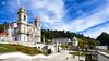 Bom Jesus (Shawnito) Tags: iglesia church portugal wideangle angular sky cielo azul blue