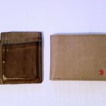 1041 - 2017-11-20. My new wallet, right, and my old wallet, which started out the same color a few years ago. Leather is awesome. thumbnail
