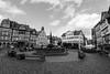 Butzbacher Marktplatz (Katzenfutter) Tags: hessen butzbach wetterau germany bw 16mm nikon d800