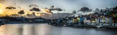 Flash-back... (Fred&rique) Tags: lumixfz1000 photoshop raw hdr portugal porto douro fleuve ville architecture crépuscule voyage couleurs eau bateaux ribeira