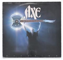 A0467 AXE Offering (vinylmeister) Tags: vinylrecords albumcoverphotos heavymetal thrashmetal deathmetal blackmetal vinyl schallplatte disque gramophone album