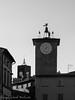 Torre Maurizio (frillicca) Tags: 2017 agosto august bn bw belltower biancoenero blackandwhite duomosquare mauriziotowerbell monochrome monocromo morotower orvietotr panasoniclumixlx100 piazzadelduomo torre torredelmoro torredimaurizio