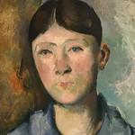 CEZANNE,1886-87 - Portrait de Madame Cézanne (Orsay) - Detail 39 thumbnail
