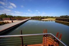 Cranbourne RBG Nov 2017 035 (Graeme Butler) Tags: water landscape history gardens australianplants architecture victoria australia
