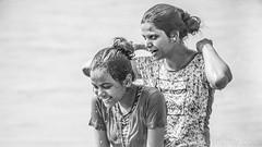 Untitled (#Weybridge Photographer) Tags: canon slr dslr eos 5d mk ii nepal kathmandu asia mkii girls girl elephant back wash washing bath bathing chitwan national park