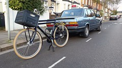 One has a future in the city. (Dan K ™) Tags: transportfiets workbike cycling dutchstyle cortina london cortinafietsen opafiets dutchbike