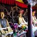 Buddhist statues at Chemre Monastery - Ladakh, Northern India