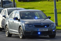 Unmarked Traffic Car (S11 AUN) Tags: cleveland police skoda octavia vrs tsi anpr unmarked traffic car rpu roads policing unit 999 emergency vehicle