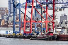 r_171114254_beat0075_a (Mitch Waxman) Tags: atlanticbasin citywideferry eastrivershoreline newyorkcity newyorkharbor tugboat newyork