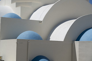Blue Domes, White Quadrants and Shades of Grey, Santorini Details 56