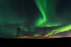 Aurora (hazelhouliston) Tags: aurora northernlights iceland reykjavik nightphotography stars sky nature