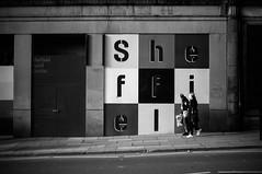 FILM - In Sheffield (fishyfish_arcade) Tags: adoxsilvermax100 analogphotography bw blackwhite blackandwhite filmphotography filmisnotdead istillshootfilm monochrome olympusom1 zuiko50mmf18 analogcamera film mono streetphotography