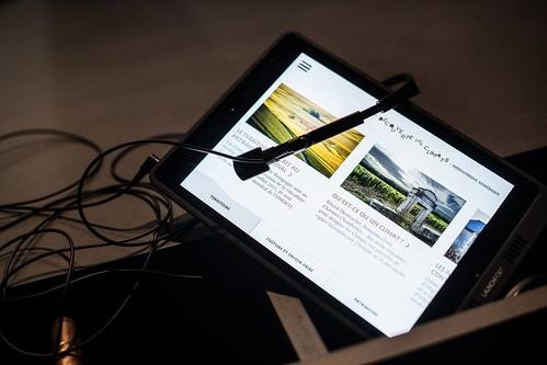 Photo diaporama - Contenu interactif sur les climats de Bourgogne