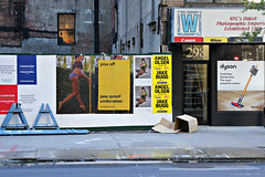 Street Scene (Throwingbull) Tags: new york city state incorporated municipality manhattan piss off ad advertisement pee proof underwear funny humor humorous