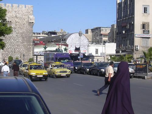 Damaskus, der Eingang zum Spuq al-Hamidiye