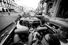 Tbird Guide (Jeremy J Saunders) Tags: cuba havana blackandwhite bw nikon d850 travel horizontal old classic american cars car automobile ford thunderbird convertible