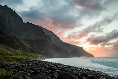 The Na Pali Coast (geekyrocketguy) Tags: kalalau napali coast beach kauai hawaii backpack backpacking sunset