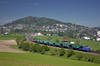 Westbound WRS freight @ Uzwil (Wesley van Drongelen) Tags: wrs widmer rail services crossrail getreidezug grain cereal céréales graantrein re 436 44 iii re436 tm 232 tm232 uzwil train trein zug