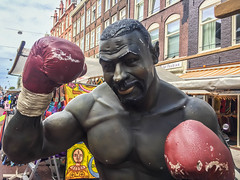 Mike Tyson Statue - Amsterdam, Netherlands (ChrisGoldNY) Tags: chrisgoldphoto chrisgoldny chrisgoldberg forsale licensing bookcovers bookcover albumcover albumcovers iphone amsterdam netherlands miketyson statue quirky wieird strange boxer celebrities americans eu europe european westerneurope holland thenetherlands nederland dutch red rouge