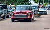 1955 Chevrolet & 1942 Chevrolet pickup truck (kenmojr) Tags: 2017 antique atlanticnationals auto car classic moncton newbrunswick show vehicle vintage centennialpark kenmo kenmorris carshow nikon d7000 nikkor 18105 1955 chevy chevrolet 2door 1942 pickup truck