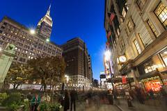 Herald Square (Jemlnlx) Tags: canon eos 5d mark iv 4 5d4 5div ef 1635mm f4 l is usm new york city ny nyc 34th street herald square macys empire state building esb tripod gitzo long exposure