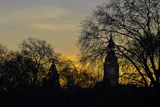 Big ben (Elizabeth Tower), from St James's Park London  -  (Selected by GETTY IMAGES)