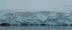 Glacier Meeting the Sea. Antarctic Peninsula, Feb. 0216 (Ruby 2417) Tags: glacier coast coastal ocean sea antarctica antarctic peninsula snow ice cold blue