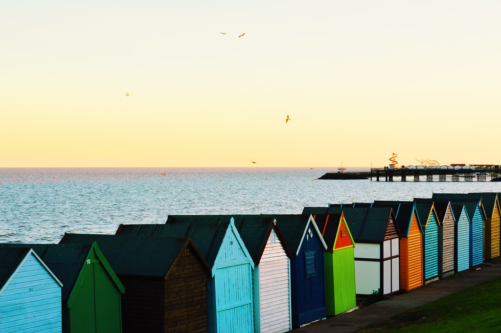 Herne Bay Beach Huts and Pier