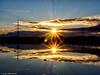 332/365 - Doppelter Sonnenuntergang (J.Weyerhäuser) Tags: felder spiegelung pfützen sonnenuntergang