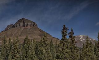 East Turks Head Peak and Spencer Mountain