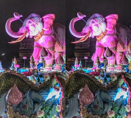 Loi Krathong Festival 3D