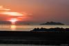 The battleship island at sunset (tetsuyakatayama) Tags: japan nagasaki nature sky sun cloud sea island battleship beach sunset