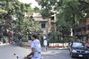 Home of Girish Ghosh in Kolkata (kgpnative) Tags: calcuttatheater oldcalcutta calcutta historical theatre bengalitheater bengal oldkolkata kolkatatheater houseintrafficisland trafficisland dividedstreet streetscene kolkata india