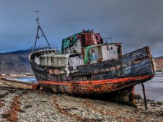 The Corpach Wreck, Lochaber, Scotland
