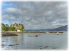 St Johns Castle, Carlingford, Co, Louth. Ireland. (willieguildea) Tags: harbour port quay castle landscape water waterscape boats canoes carlingfors louth ireland eire coast coastal coastalview sky clouds seaside nikon boat