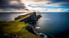 Accentuated Point (Augmented Reality Images (Getty Contributor)) Tags: neistpoint lighthouse isleofskye scotland storm waves cliffs water island leefilters hebrides canon rocks longexposure clouds unitedkingdom gb