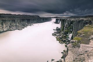 Milky river