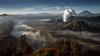 Mount Bromo at the The Bromo Tengger Semeru National Park (André Schönherr) Tags: 40d visionhunter bromo vulkan vulcano eruption tengger semeru java indonesia batok nature natur sunrise landscape