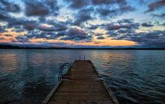 November sunset colours (Joni Mansikka) Tags: autumn nature outdoor sea silhouettes sky clouds colours landscape harvaluotopiikkiösuomi suomi100 finland finland100 variosonnar16803545za sal1680z