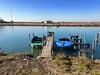 iph8064 (gzammarchi) Tags: italia paesaggio natura ravenna portocorsini piallassabaiona piallassa barca lago canale capanno coppia pontile explore