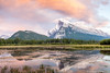 Mount Rundle, Banff, Alberta 2 (AmbientLens) Tags: clouds cloudscape lake mountrundle mtrundle nature outdoors reflection trees water adventure alberta banff canada canadianrockies cloudy jasper mountain natural rockymountains snow snowcappedmountains sunset