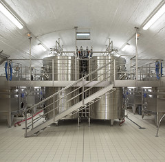 Cuverie Pol Roger. Epernay, Marne. (Clement Guillaume) Tags: cuverie cuve champagne wine vin polroger epernay marne